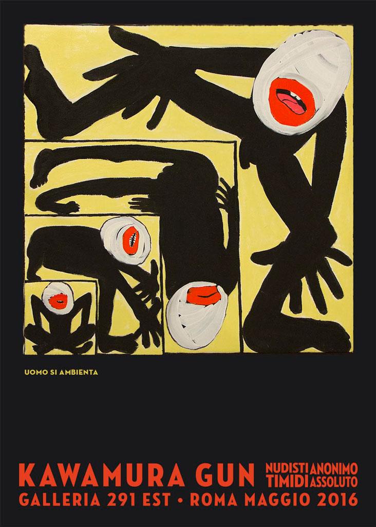 galleria-291-est-kawamura-gun-anonimo-poster