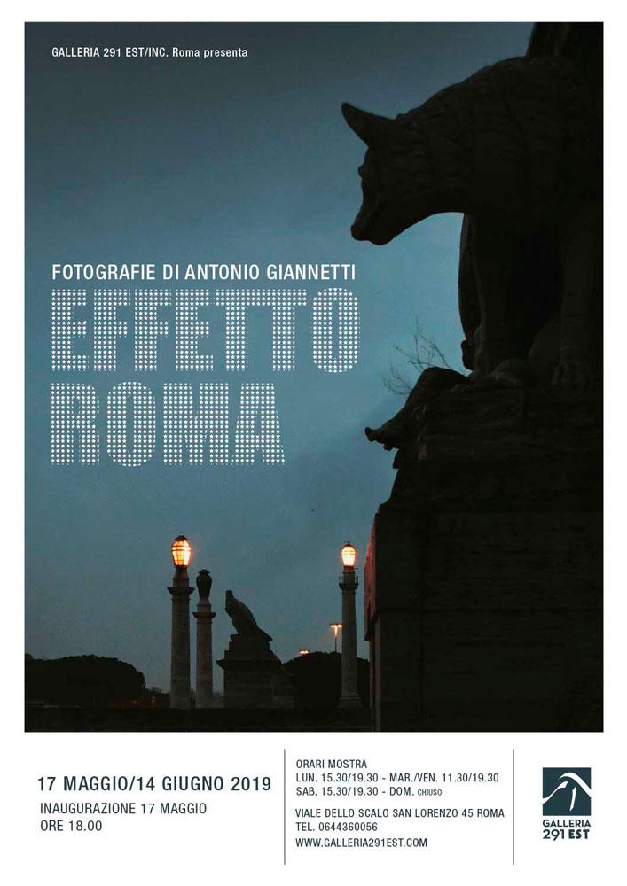 galleria-291-est_Effetto-Roma-antonio-giannetti_locandina